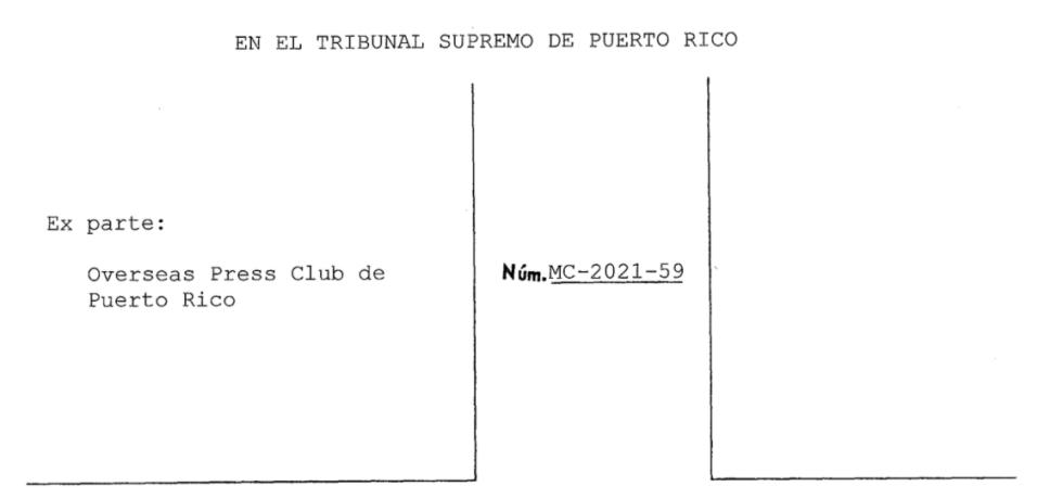 """""""No ha lugar"""" segunda petición del Overseas Press Club en caso de grabaciones de Andrea Ruiz"""