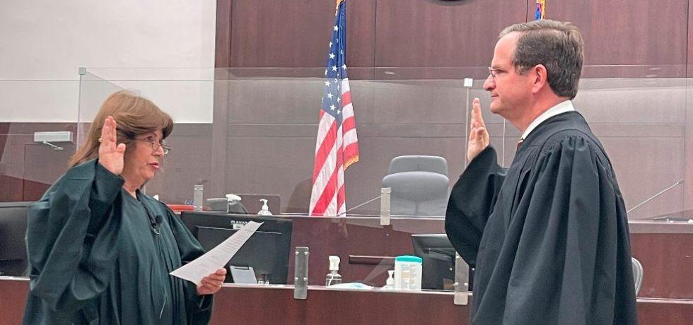 Juramenta Raúl Arias-Marxuach como juez presidente del tribunal federal de distrito