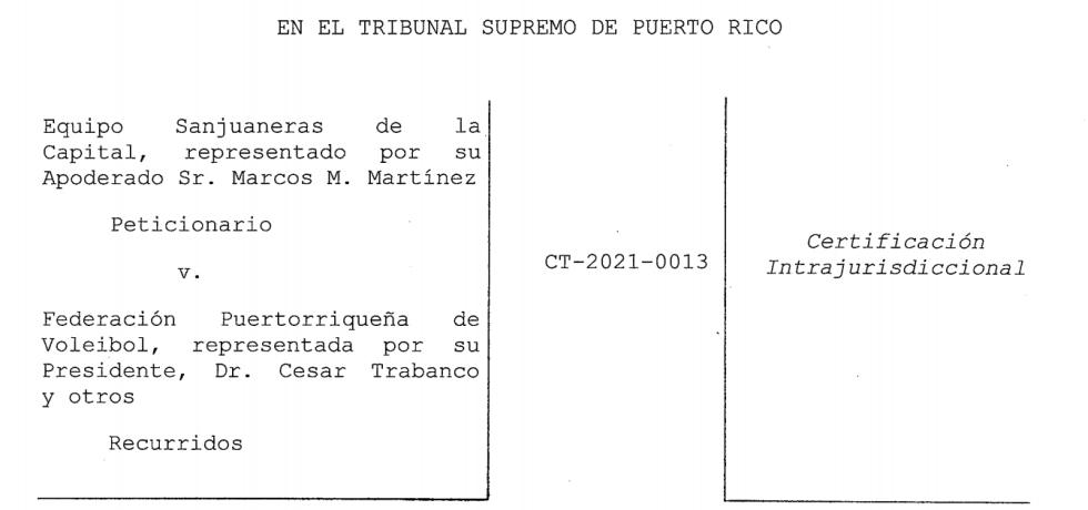 Supremo no verá caso de las Sanjuaneras de la Capital