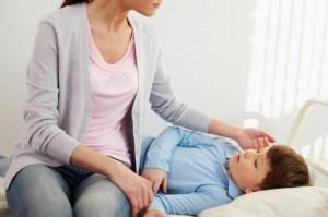 cuidado hijo enfermo licencia