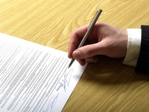 contrato firma