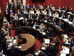 Votaciones camara de senadores