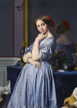 La condesa de Haussonville de Ingres