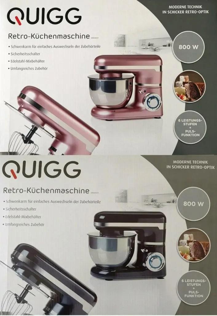 Quigg Retro Kuchenmaschine Von Aldi Test Bewertung Und Erfahrungen