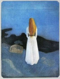 Edvard Munch - young-woman-on-the-beach