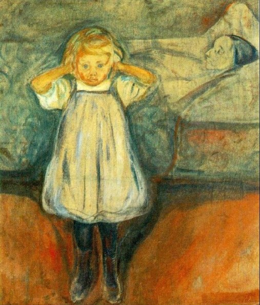 Edvard Munch - morte della mamma 1899