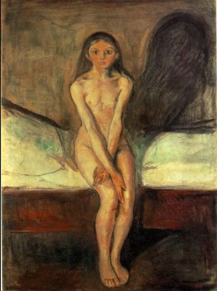 Edvard Munch - pubertà 1895
