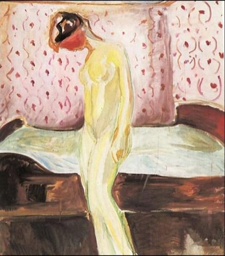 Edvard Munch - ragazza in lacrime