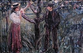 Edvard Munch - Adamo ed Eva 1909