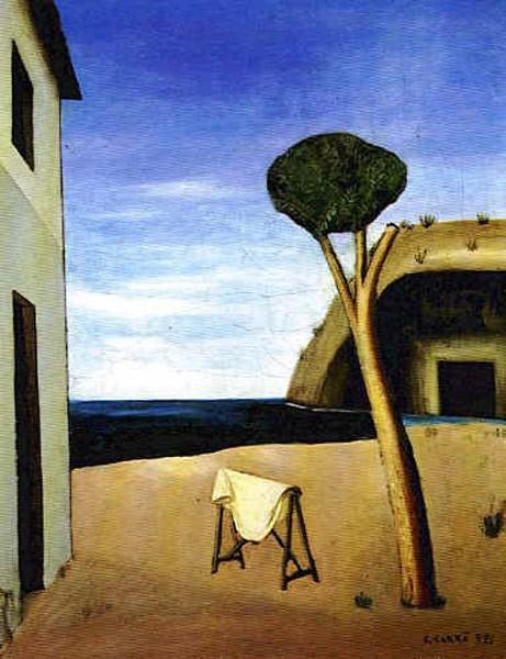 Il pino sul mare - Carlo Carrà