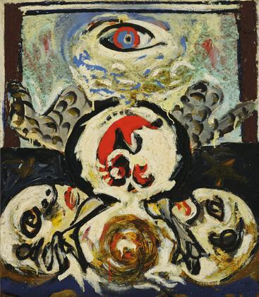 Jackson Pollock - bird-1941