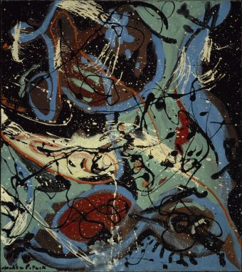 Jackson Pollock - composition-with-pouring