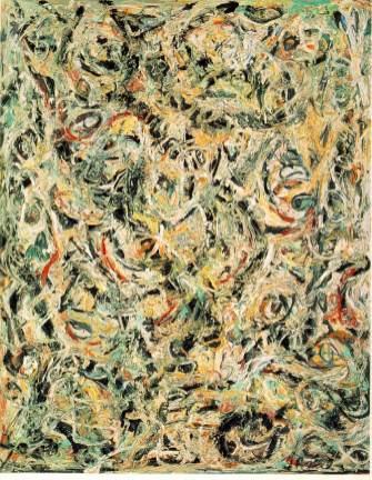 Jackson Pollock - eyes-heat