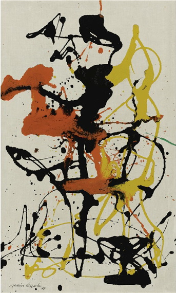 Jackson Pollock - Number-26-1949