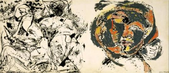Jackson Pollock - Portrait and a dream, 1953