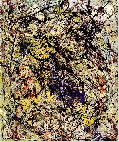 Jackson Pollock - Reflections-of-the-big-dipper-1947
