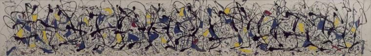 Jackson Pollock - Summertime: Number 9A 1948