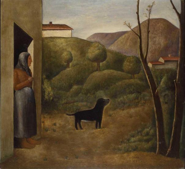 L'attesa - Carlo Carrà