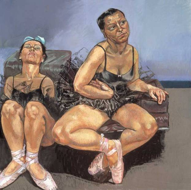 Paula Rego - Dancing Ostriches 1995