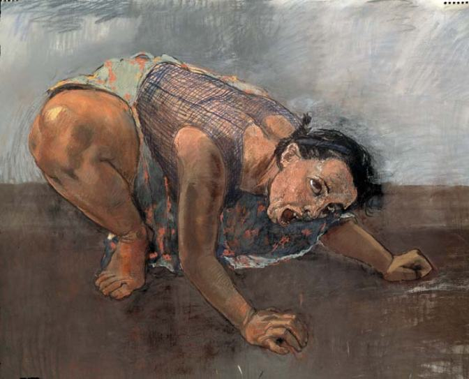 Paula Rego - Dog Woman 1994