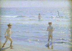 Peder Severin Kroyer – Bimbi in spiaggia