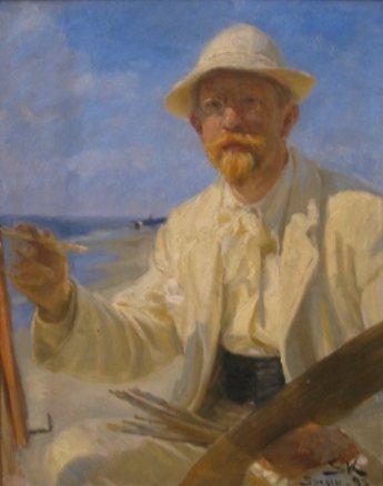 Peder Severin Kroyer – Selvportræt