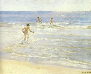 Peter Severin Kroyer – Bambini al mare