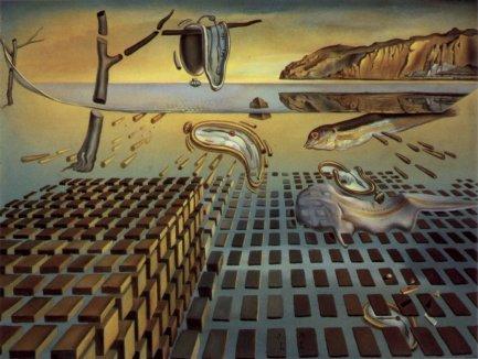 Salvador Dalì - the-disintegration-of-the-persistence-of-memory