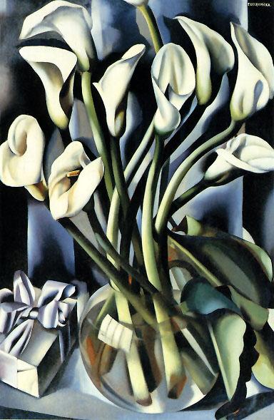 Tamara de Lempicka -Calla-Lilies-DateUnknown