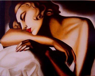 Tamara de Lempicka -Dormeuse-DateUnknown