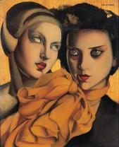Tamara de Lempicka - L echarpe orange