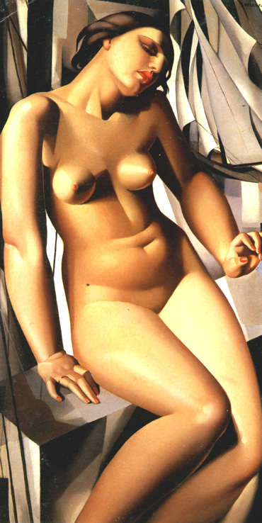 Tamara de Lempicka -Nude-with-Sails-1931