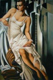 Tamara de Lempicka -Portrait-of-Madame-Allan-Bott-DateUnknown