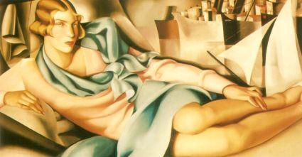 Tamara de Lempicka -PotraitofArletteBoucard
