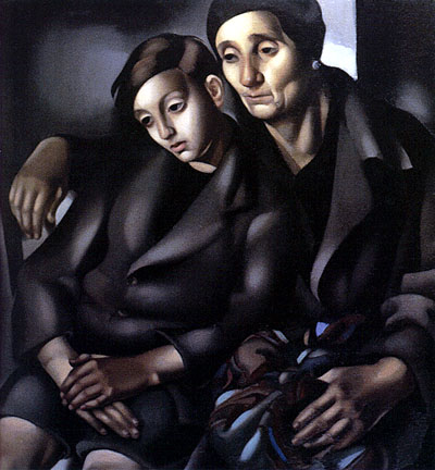 Tamara de Lempicka -The-Refugees-1937