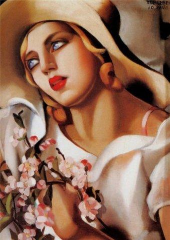 Tamara De Lempicka - The Straw Hat, 1930