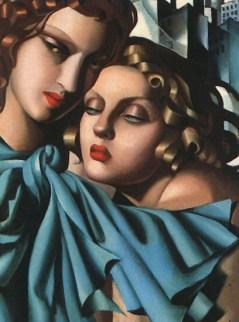 Tamara de Lempicka -Two-Girls-1928