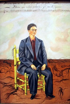 Frida Kahlo - Self-Portrait with Cropped Hair