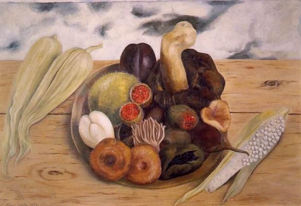 Frida Kahlo - fruits_of_the_earth