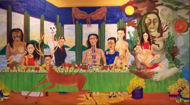Frida Kahlo - last-supper