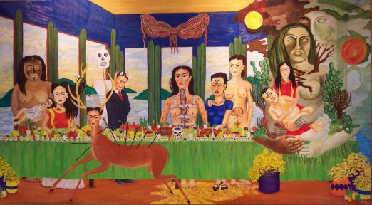 Frida Kahlo - last-supper