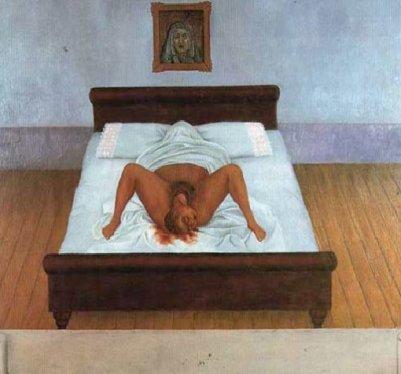 Frida Kahlo - mi_nacimiento1932