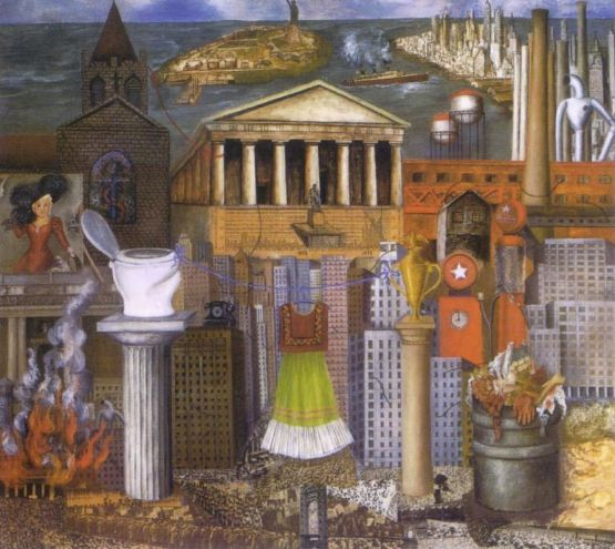 Frida Kahlo - my-dress-hangs-there