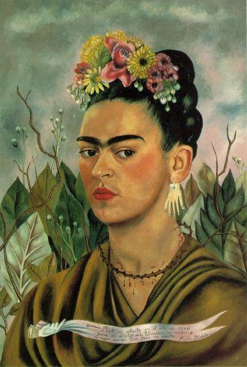 Frida Kahlo - self 1