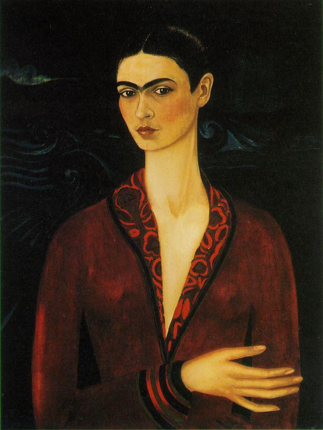 Frida Kahlo - selfportrait