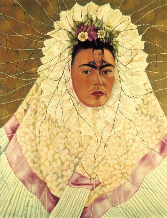 Frida Kahlo - tehuana