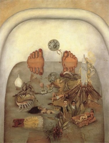 Frida Kahlo - what-i-saw-in-the-water