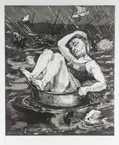 Flood 1996 by Paula Rego born 1935