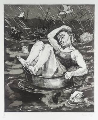 Flood 1996 by Paula Rego born 1935