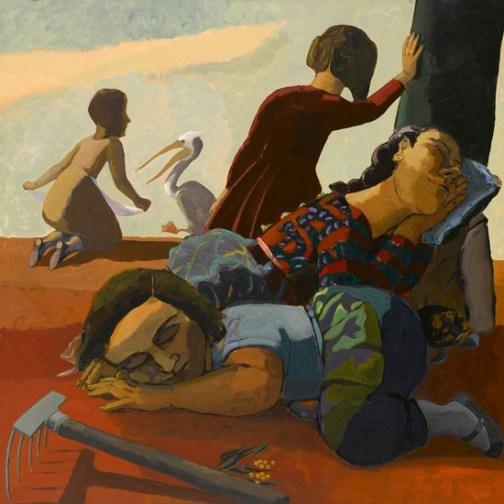 Paula Rego - Sleeping-1986
